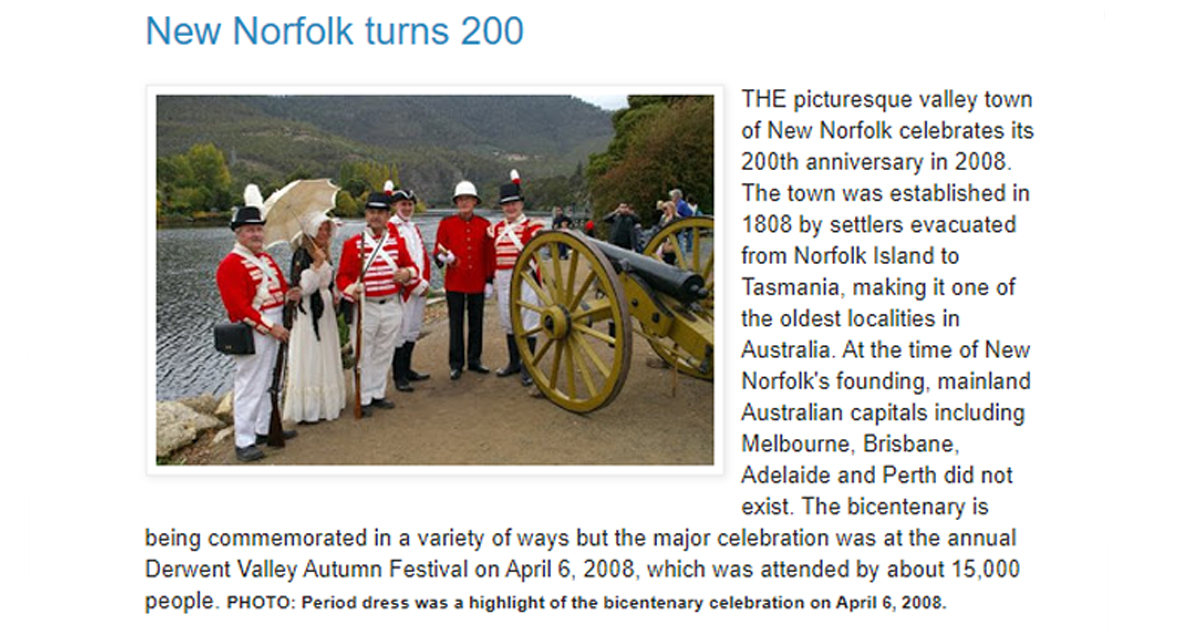 first post on the new norfolk news website in 2008