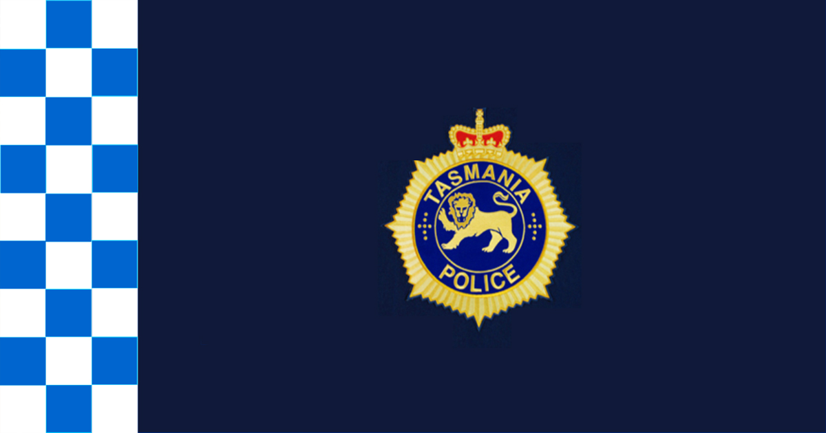Tasmania police flag