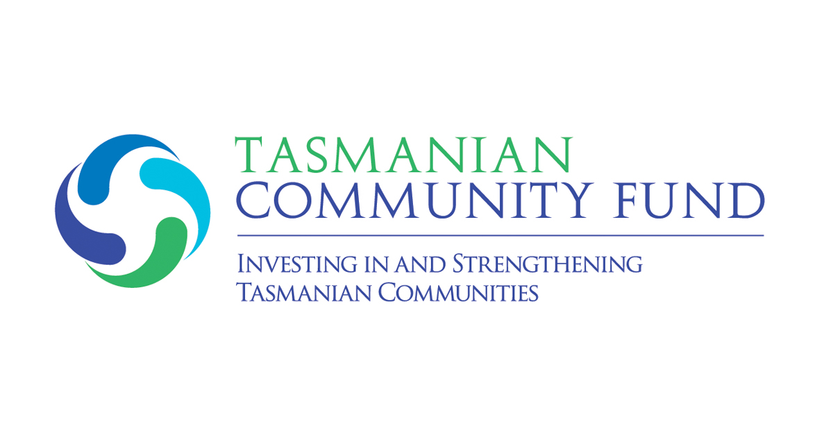 Tasmanian Community Fund logo.
