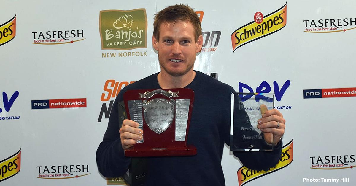 New Norfolk cricketer Jamie Hills