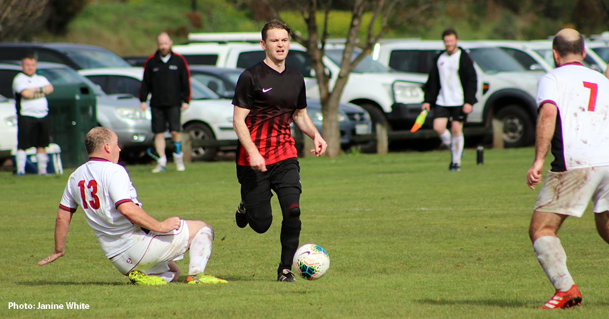 New Norfolk soccer player Martin Cairns