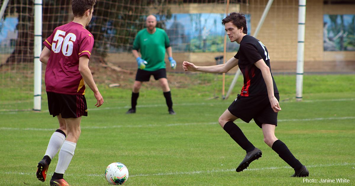 New Norfolk soccer player James White