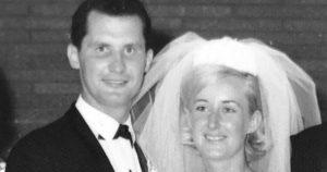 Noel and Julie Browning's wedding