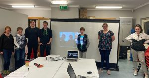 Members of the Derwent Valley Youth Future Action Team
