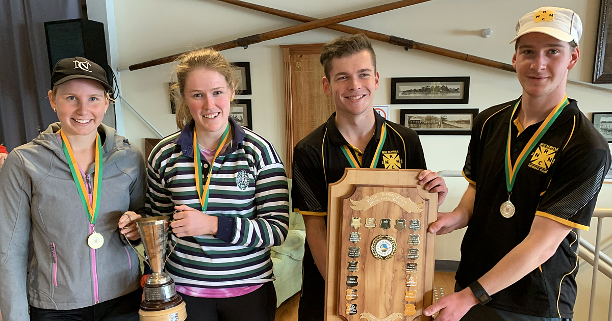 New Norfolk Rowing Club members
