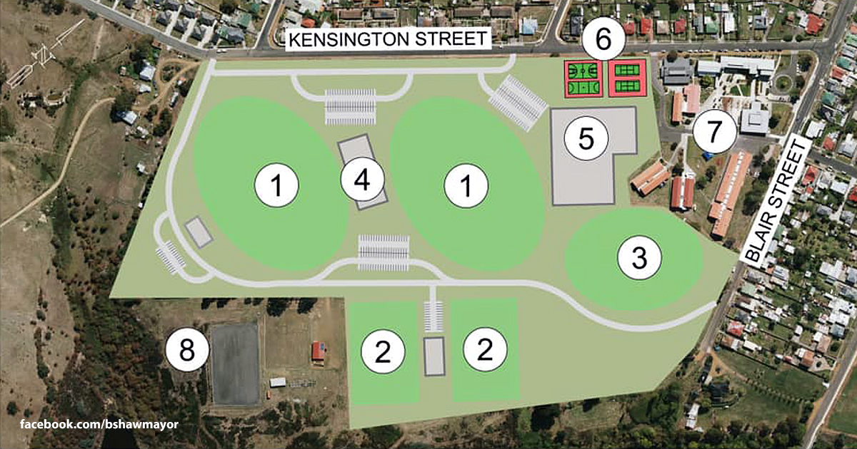 Kensington Park redevelopment proposal
