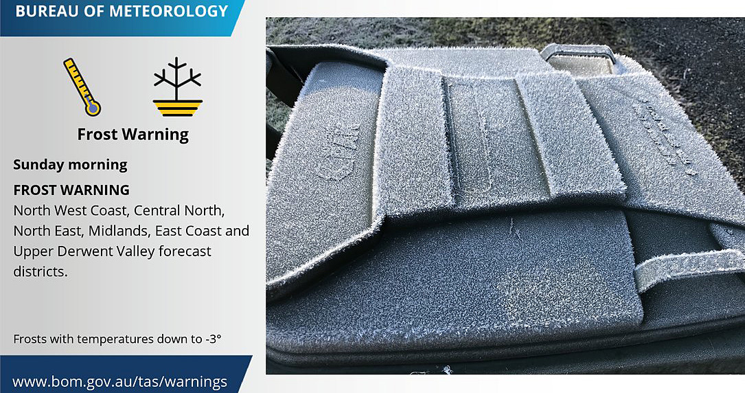 frost weather warning