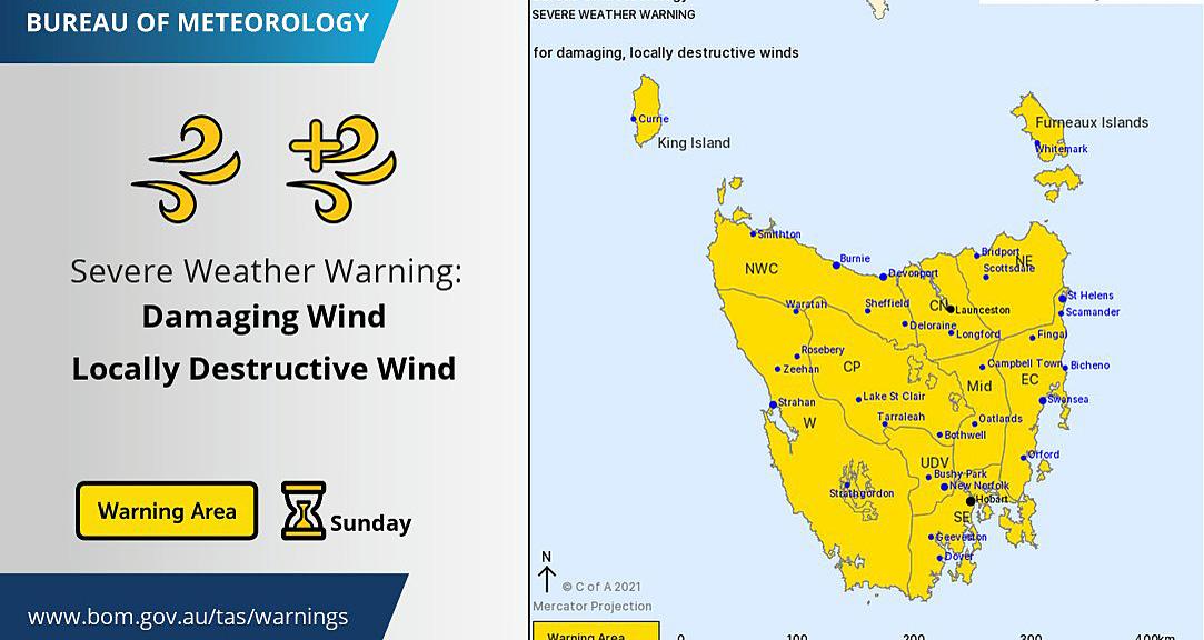 damaging wind warning